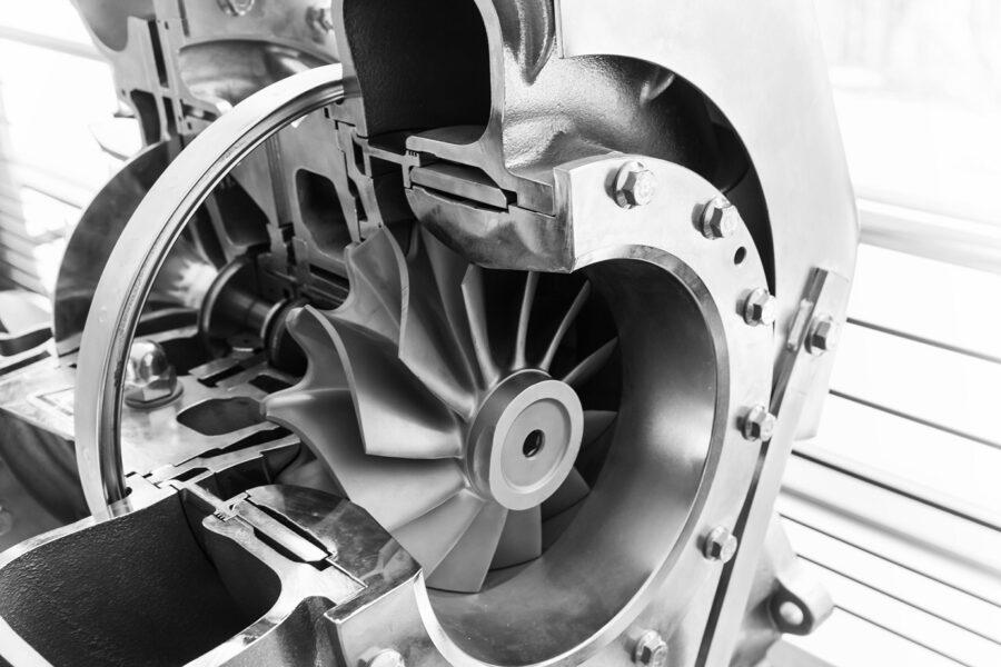sterowniki w turbinie naprawa